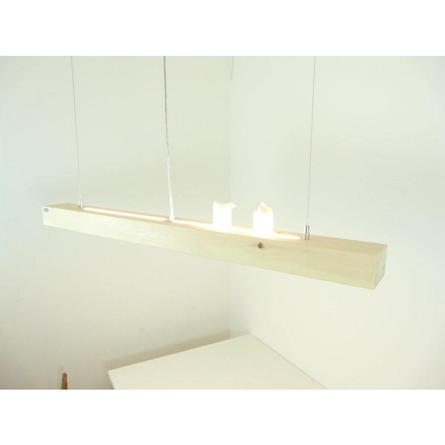 Esstischlampe Hängeleuchte aus Zirbenholz   117 cm-1