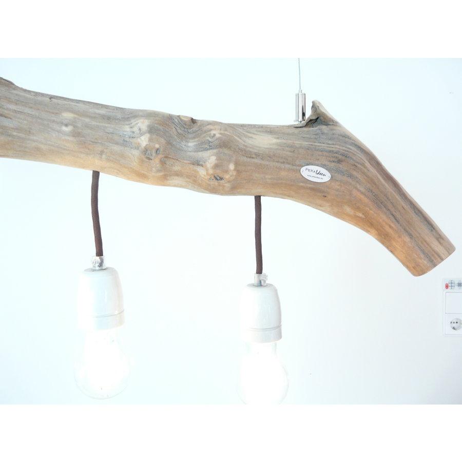 Schwemmholzlampe mit Porzellanfassungen-4