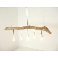 thumb-Schwemmholzlampe mit Porzellanfassungen-5