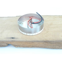 thumb-Deckenleuchte Antikholz mit indirekter Beleuchtung-5