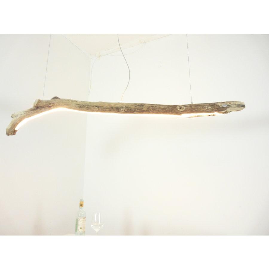 Treibholz Hängeleuchte mit Ober- und Unterlicht-1
