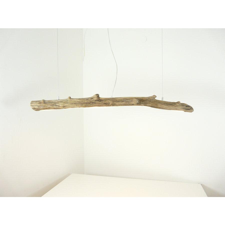 Treibholz Hängeleuchte mit und Unterlicht-1
