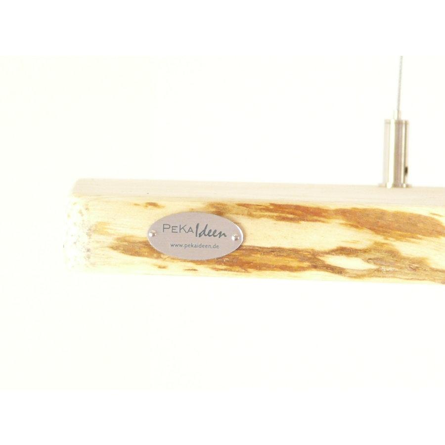 schöne Esstischlampe Hängeleuchte aus Zirbenholz-2