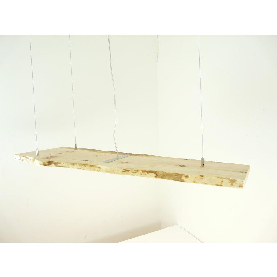 schöne Esstischlampe Hängeleuchte aus Zirbenholz-3