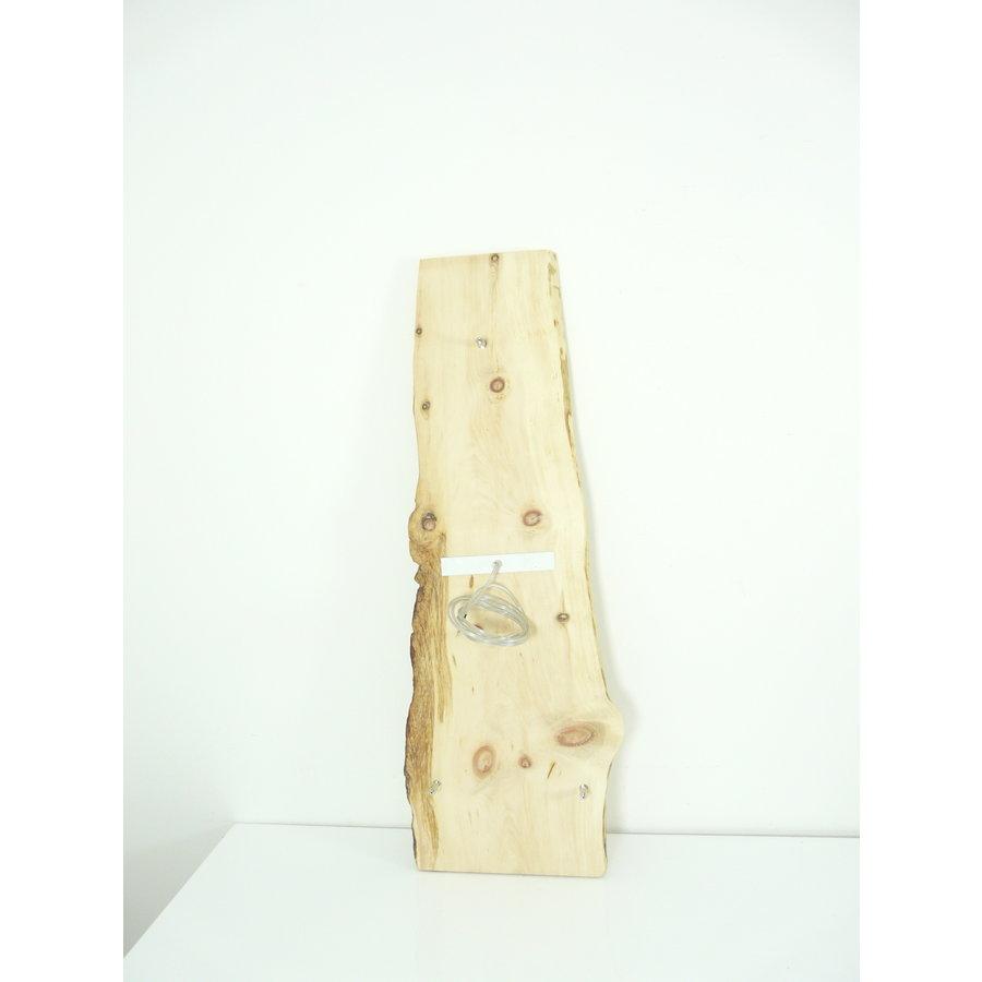 schöne Esstischlampe Hängeleuchte aus Zirbenholz-4