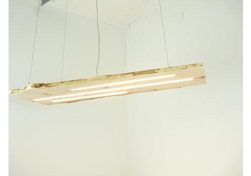 schöne Esstischlampe Hängeleuchte aus Zirbenholz