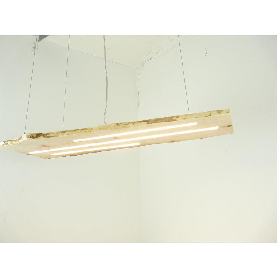 schöne Esstischlampe Hängeleuchte aus Zirbenholz-1