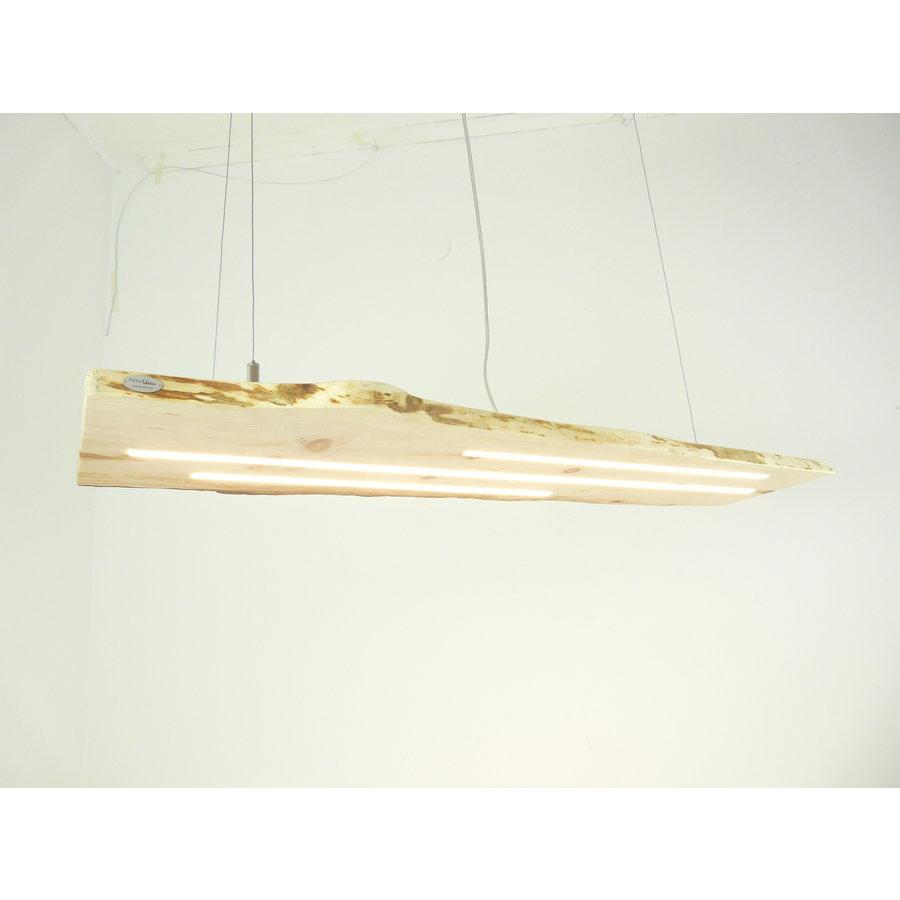 schöne Esstischlampe Hängeleuchte aus Zirbenholz-6