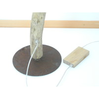 thumb-tolle Stehlampe Treibholz mit Dimmer-9