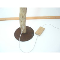 thumb-tolle Stehlampe Treibholz mit Dimmer-8