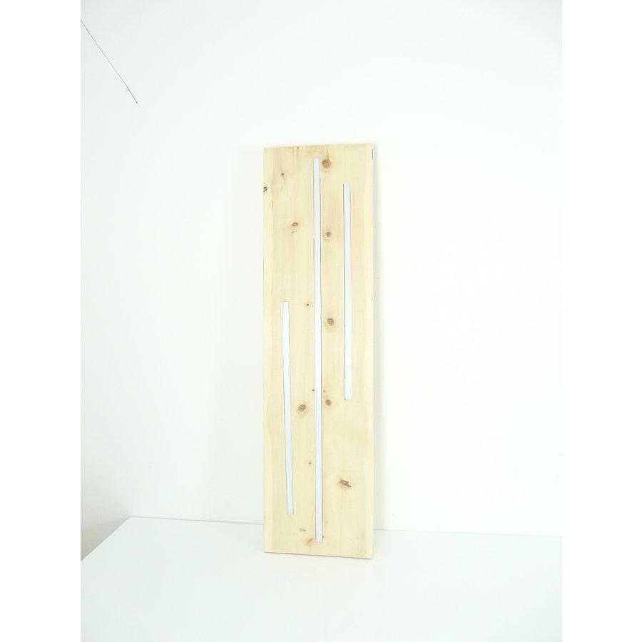 Zirbenholz Hängeleuchte mit Ober- und Unterlicht-8
