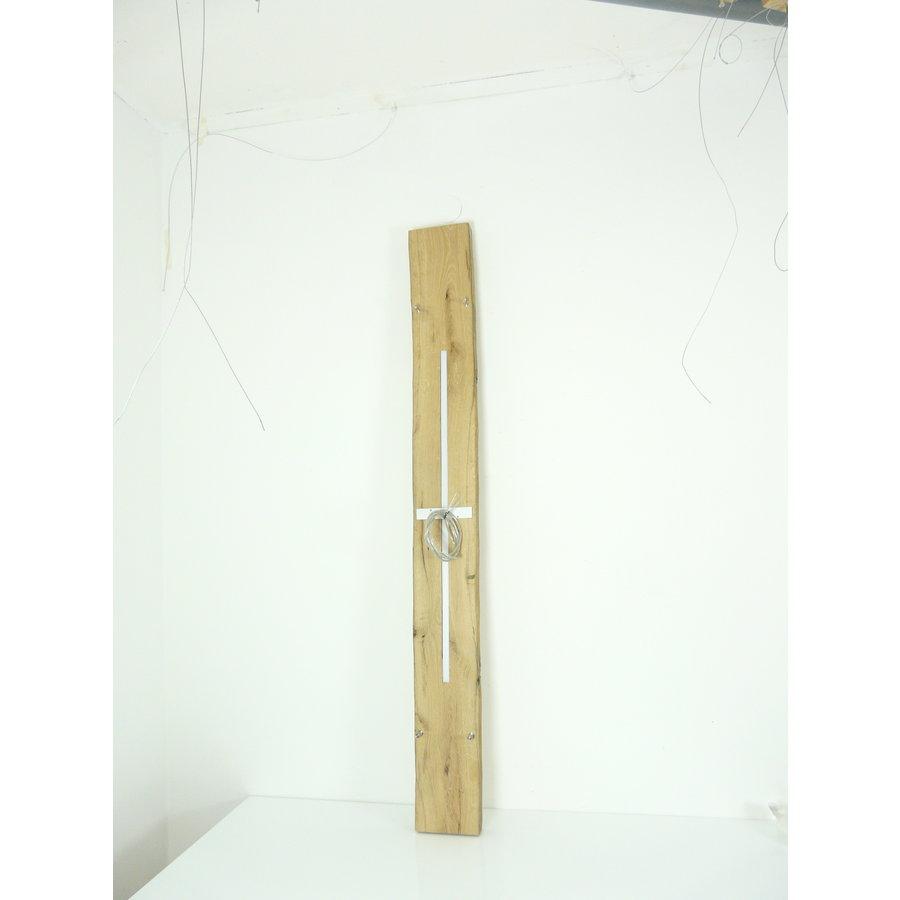 hochwertige LED Lampe Hängeleuchte Antikbalken Holz Eiche-8