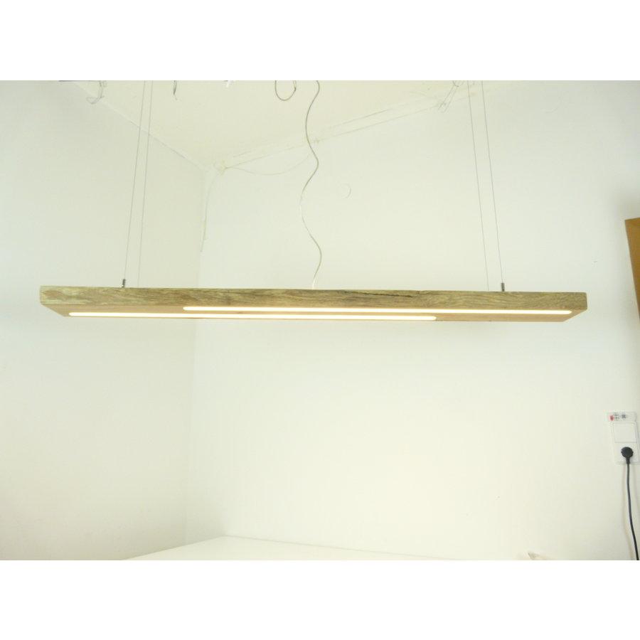 hochwertige LED Lampe Hängeleuchte Antikbalken Holz Eiche-1