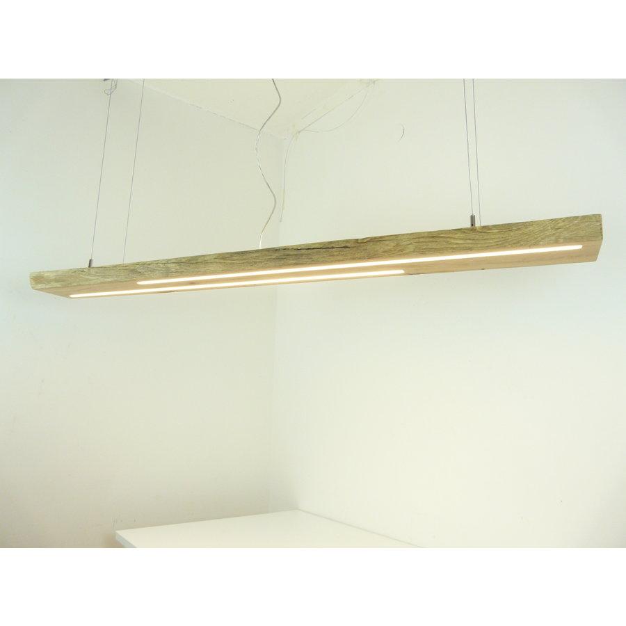 hochwertige LED Lampe Hängeleuchte Antikbalken Holz Eiche-2