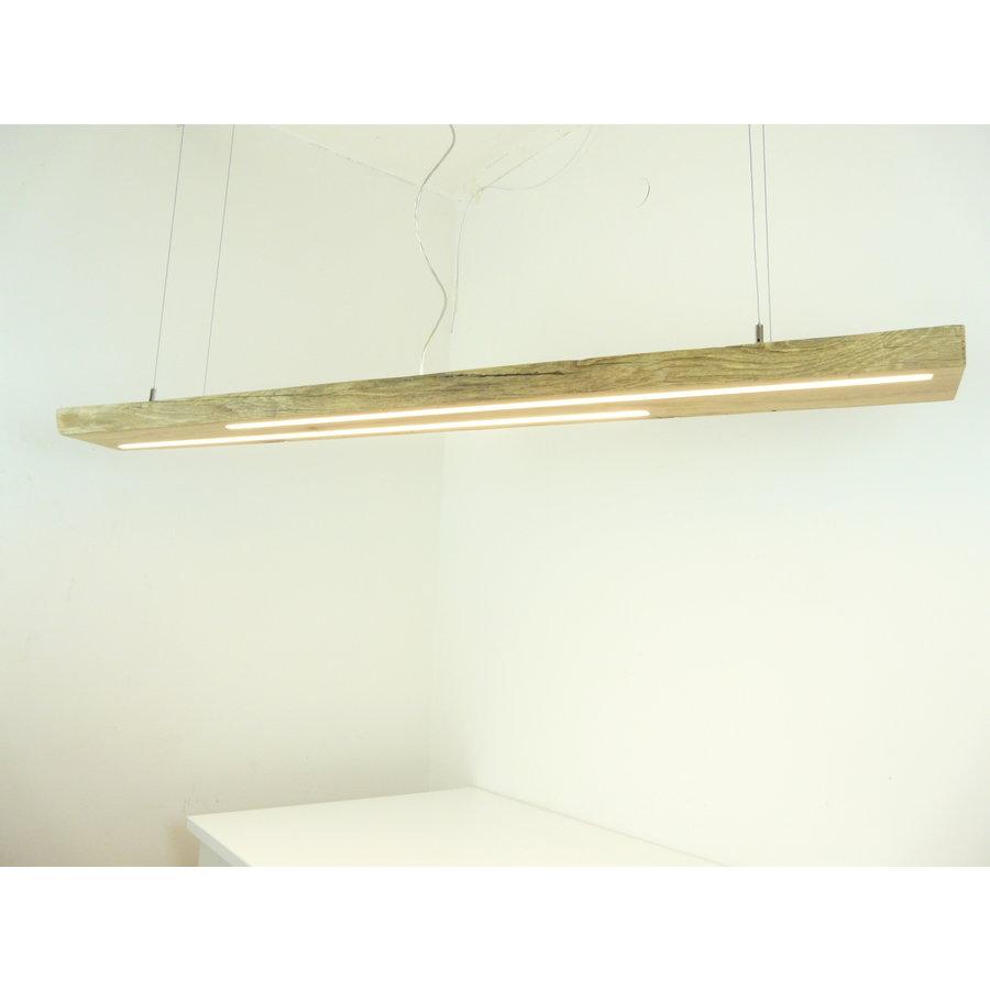 hochwertige LED Lampe Hängeleuchte Antikbalken Holz Eiche-3