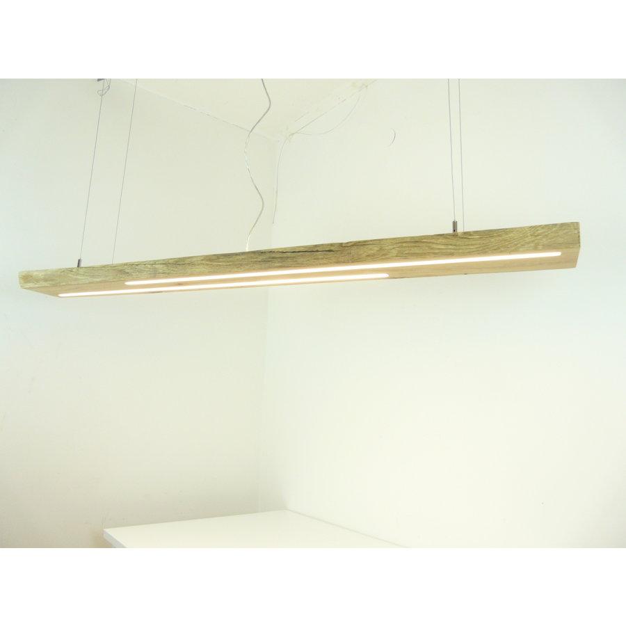 hochwertige LED Lampe Hängeleuchte Antikbalken Holz Eiche-4
