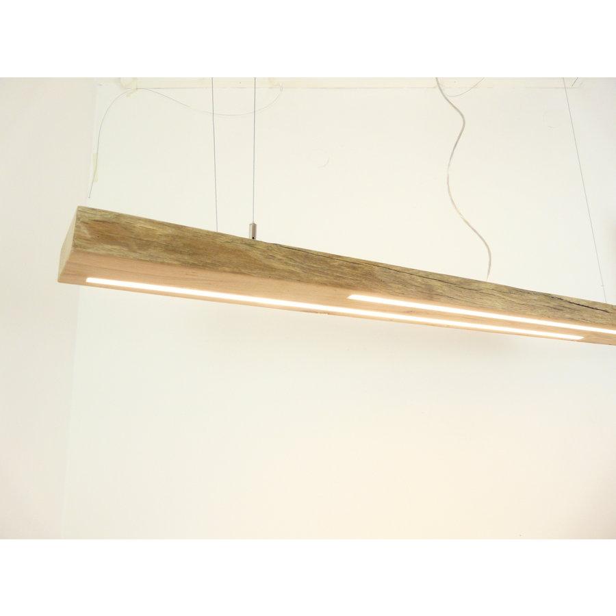 hochwertige LED Lampe Hängeleuchte Antikbalken Holz Eiche-5