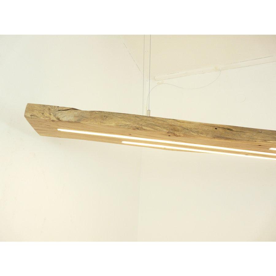 Mega LED Lampe Hängeleuchte Antikbalken Holz Eiche-4