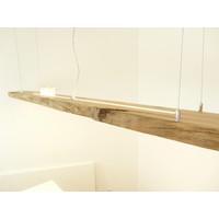 thumb-Mega LED Lampe Hängeleuchte Antikbalken Holz Eiche-5