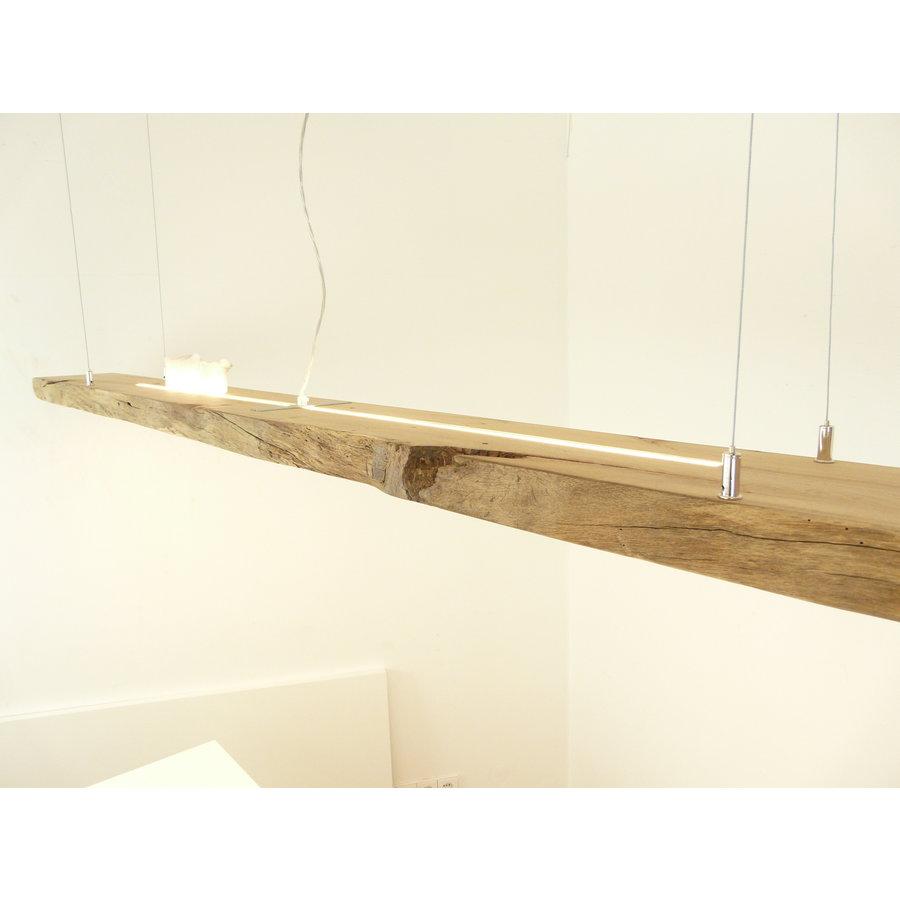 Mega LED Lampe Hängeleuchte Antikbalken Holz Eiche-5