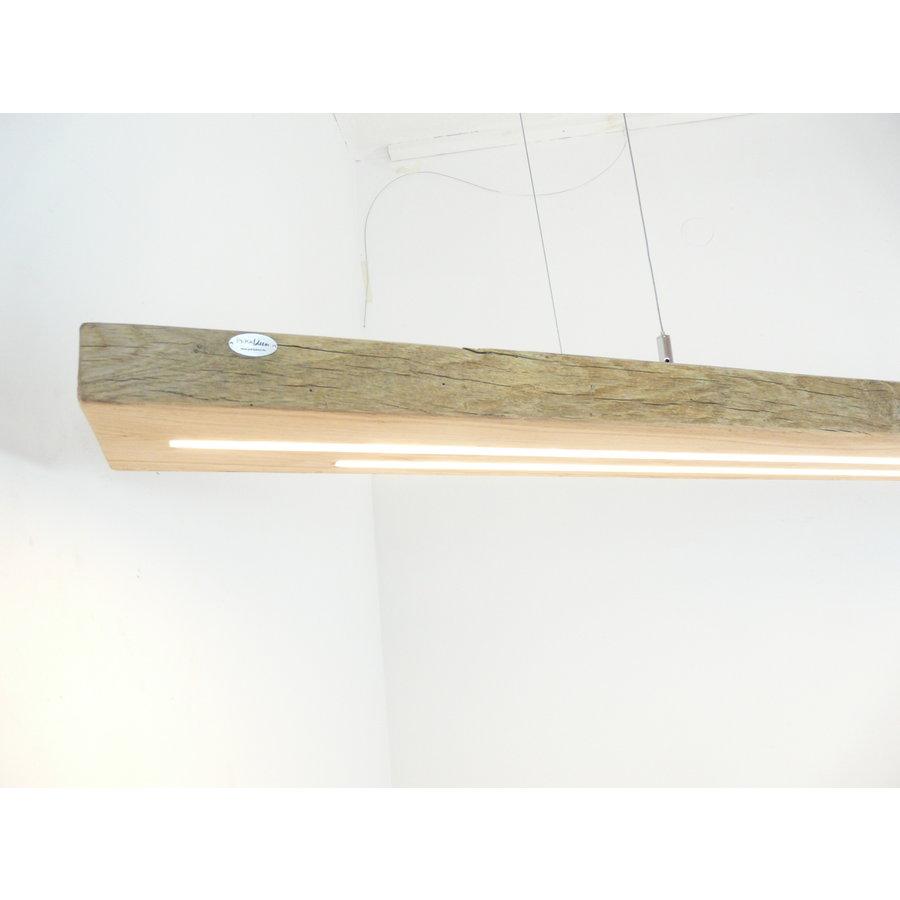 Mega LED Lampe Hängeleuchte Antikbalken Holz Eiche-7
