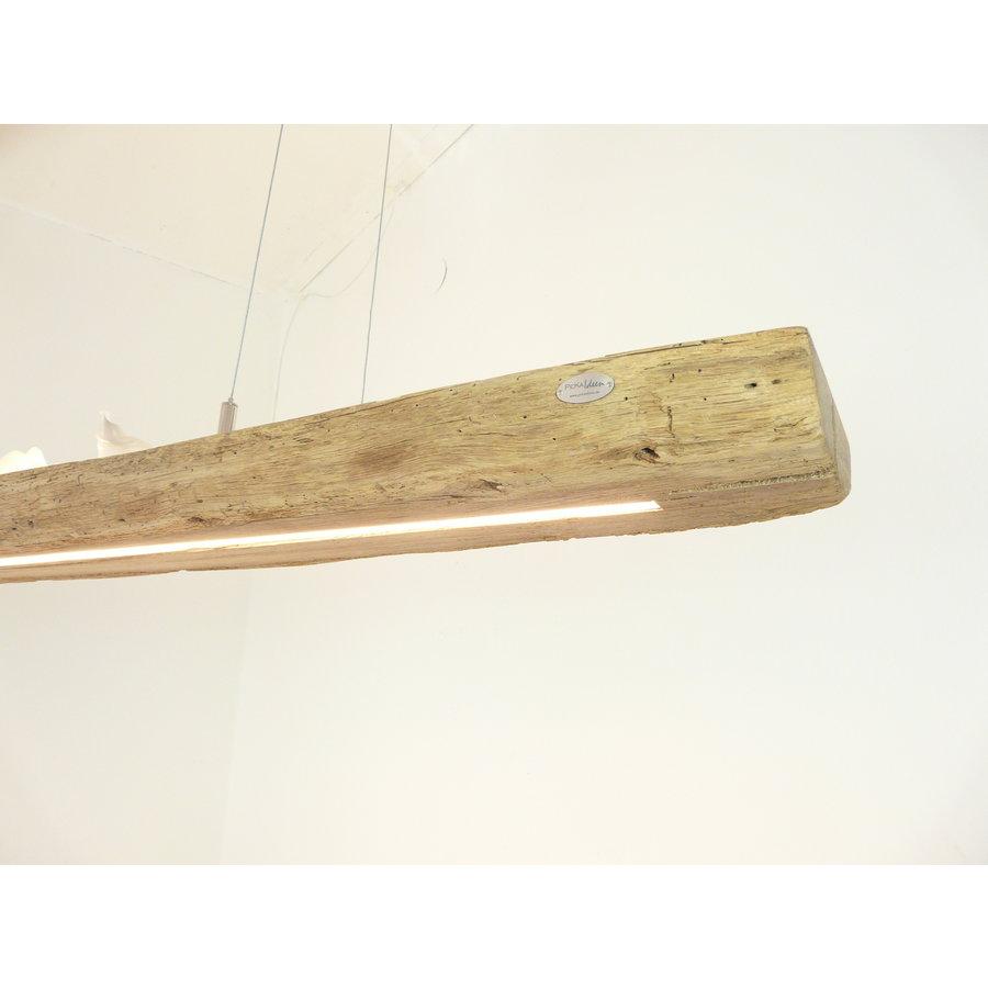 XL LED Lampe Hängeleuchte Antikbalken Holz Eiche-4