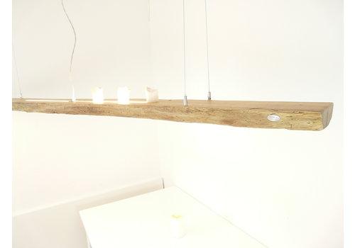 XL LED Lampe Hängeleuchte Antikbalken Eiche