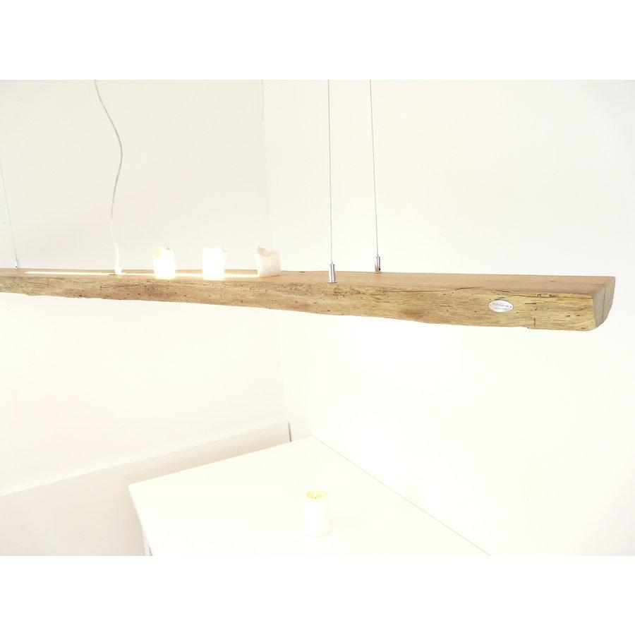 XL LED Lampe Hängeleuchte Antikbalken Holz Eiche-1