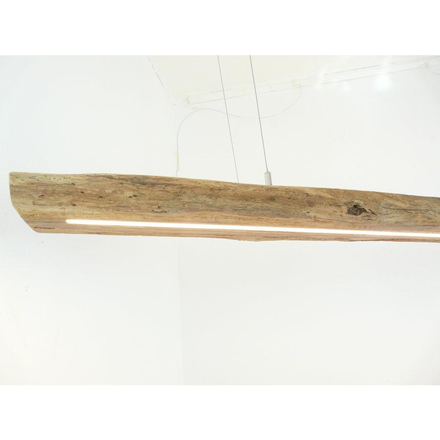 XL LED Lampe Hängeleuchte Antikbalken Holz Eiche-5