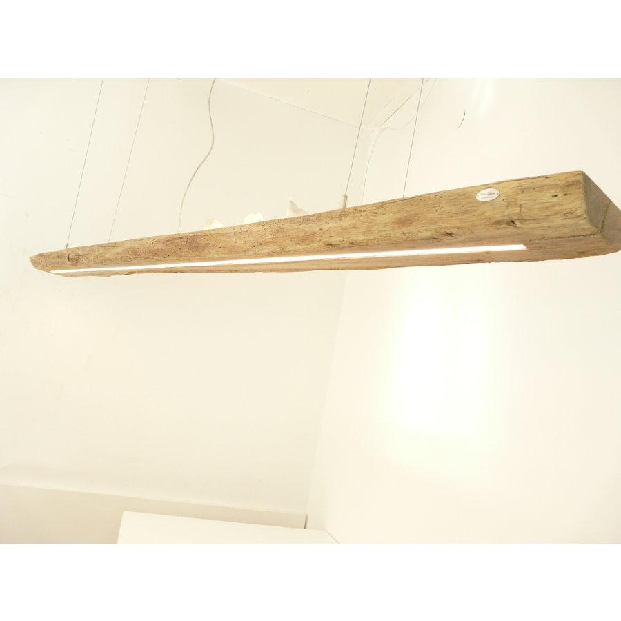 XL LED Lampe Hängeleuchte Antikbalken Holz Eiche-6