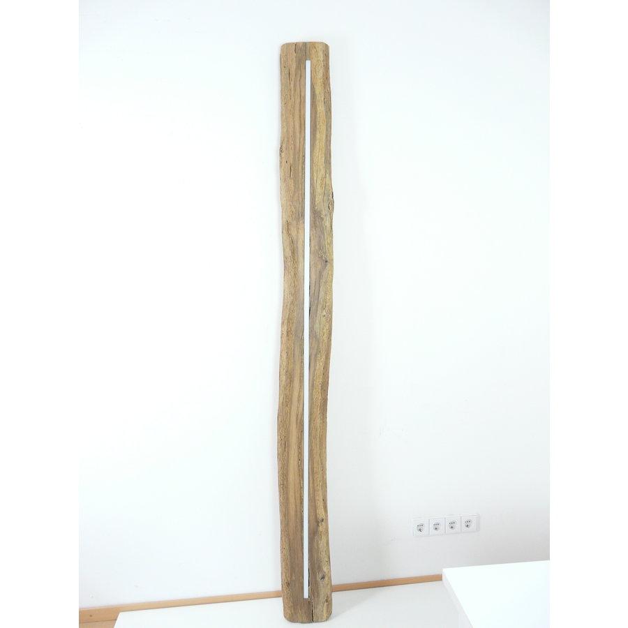 XL LED Lampe Hängeleuchte Antikbalken Holz Eiche-9