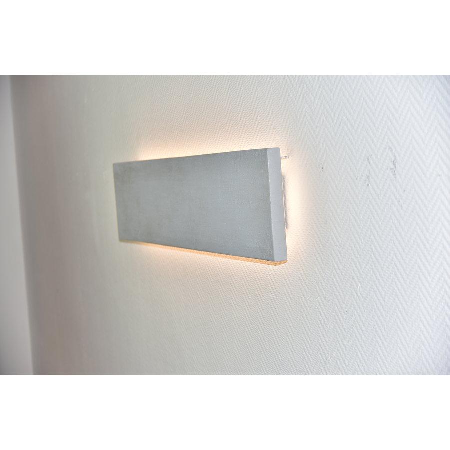 -neu-Wandleuchte Beton 80 cm beschichtet-4