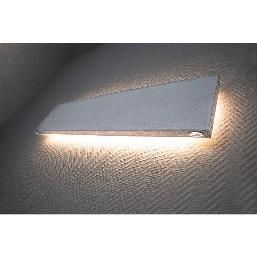 -neu-Wandleuchte Beton 80 cm beschichtet-8