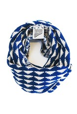 Marissa Thereze Marissa Thereze Navajo Pathway Snood Blue