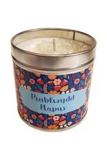 Cardigan Bay Company Penblwydd Hapus Candle
