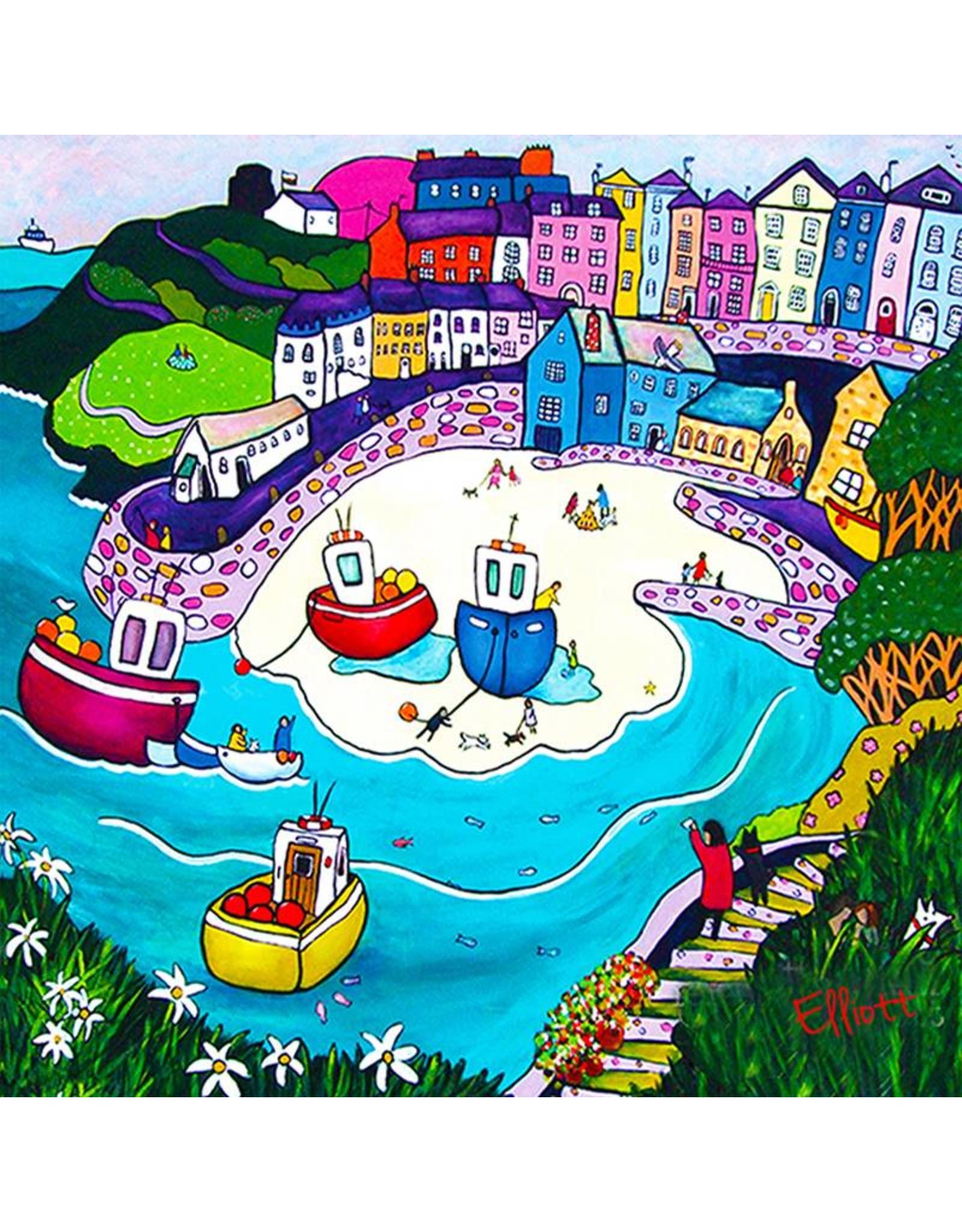 Helen Elliott Helen Elliott - Tenby Beach and Town