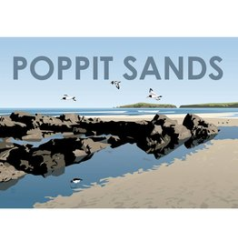 Anne Cakebread Anne Cakebread Poppit Sands Print