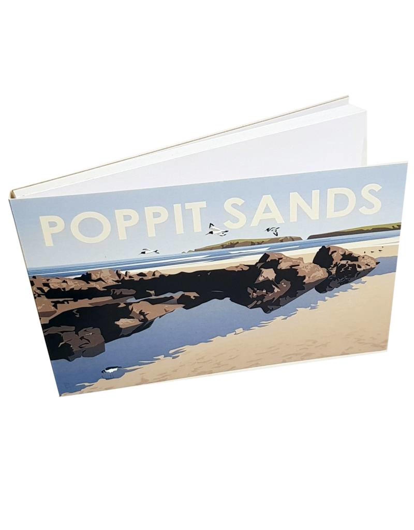 Anne Cakebread Anne Cakebread Poppit Sands Notepad