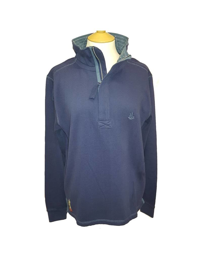 Lazy Jacks Lazy Jacks 1/4 Zip Soft Sweatshirt LJ40 - Waves