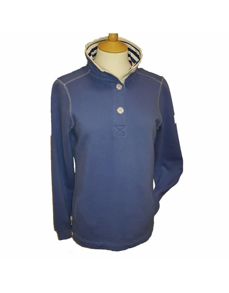Lazy Jacks Lazy Jacks Button Neck Sweatshirt LJ5 - Waves