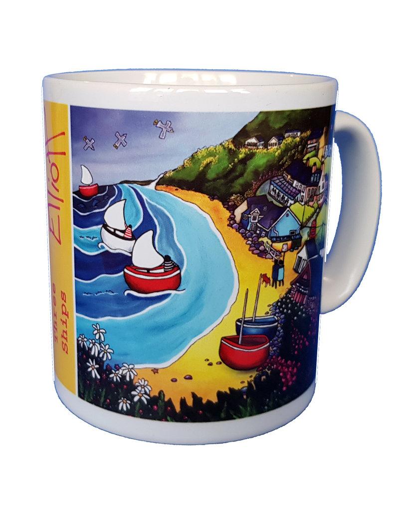 Helen Elliott Helen Elliott 3 Ships Mug
