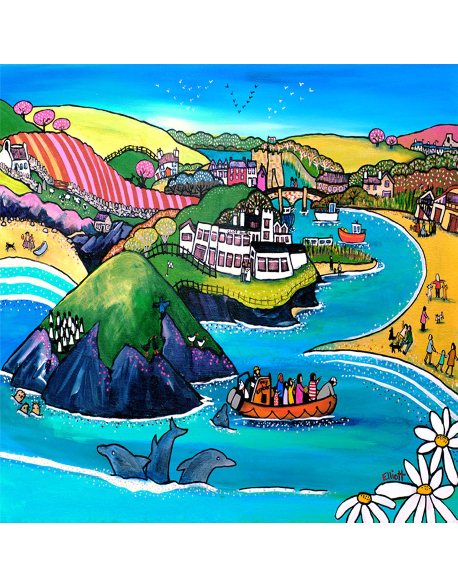 Helen Elliott Bay to Remember Postcard