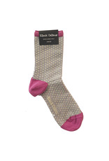 Black Colour Black Colour DIDI lurex sock lavender