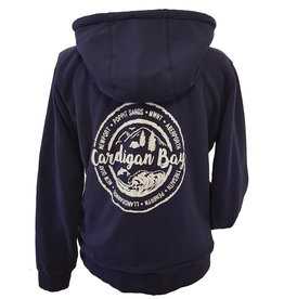 Lazy Jacks Lazy Jacks Zip Thru Hoodie with Snug Lining - LJ92 - Cardigan Bay Trees