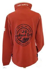 Lazy Jacks Lazy Jacks Button Neck Sweatshirt - LJ5 - Cardigan Bay Trees