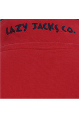 Lazy Jacks Lazy Jacks 1/4 zip Sweatshirt - LJ40 - Cardigan Bay Trees