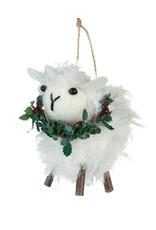 Shoeless Joe Shoeless Joe Sheep With Wreath