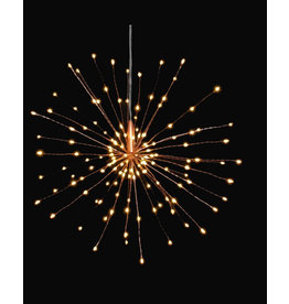 Lightstyle London Hanging Starburst Light - Copper - Mains