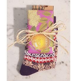 Ladies Soap and Socks Set