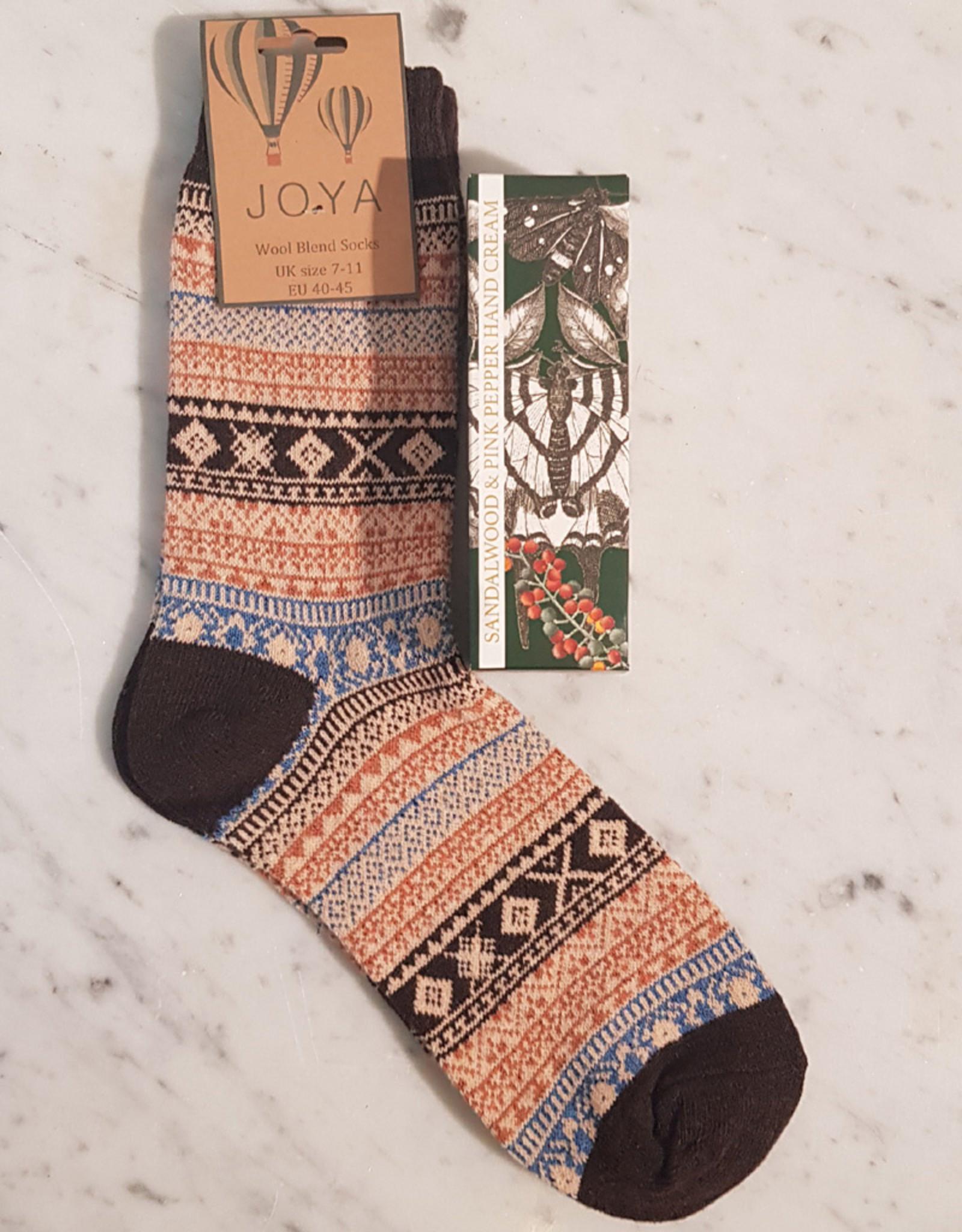 Mens Handcream and Socks Set
